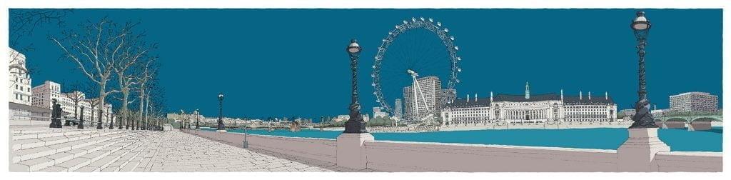 London-River-Thames-by-Westminster-Bridge-Ocean-Blue-alej-ez