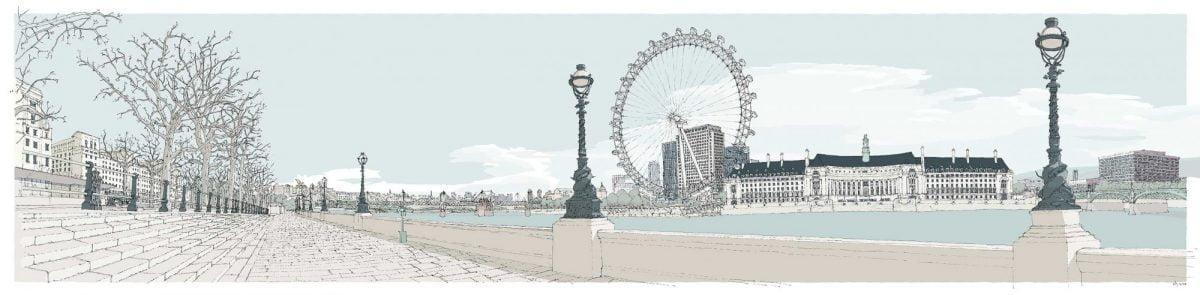 London-River-Thames-by-Westminster-Bridge-Pebble-Beach-alej-ez