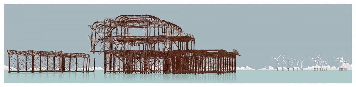 West-Pier-and-Rampion-Wind-Farm-Victorian-Steel-Iron-Structure-alej-ez