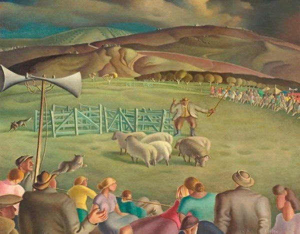 Sheepdog-Trials-By-Harry-Epworth-Allen