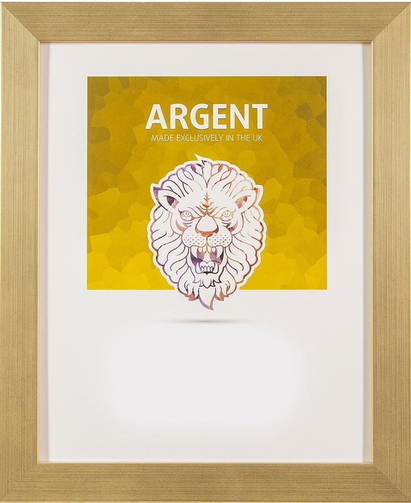 Ultimat Argent Gold Frame 12x10 in