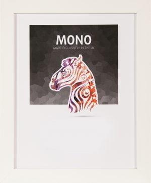 Ultimat Mono White Frame 40x50 cm