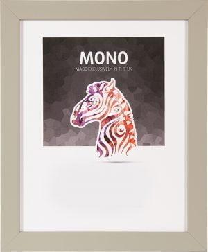 Ultimat Mono Light grey Frame 40x50 cm