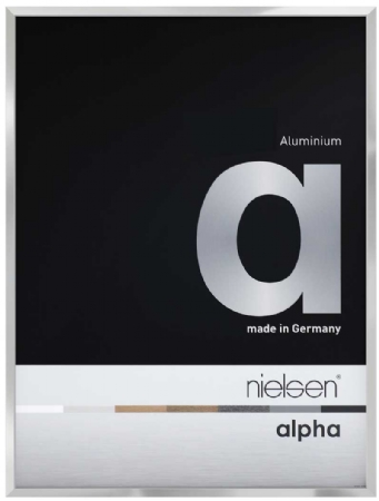 Nielson Alpha Silver Aluminium Frame A3