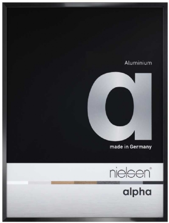 Nielson Alpha Jet Black Aluminium Frame A3
