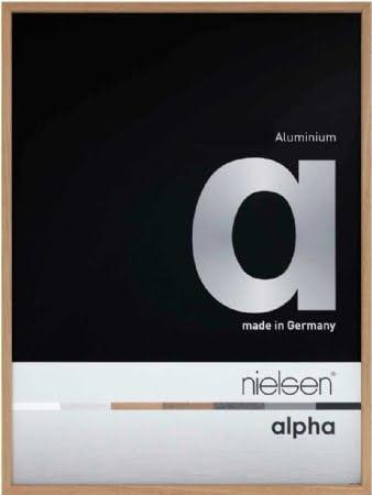 Nielson Alpha Oak Aluminium Frame A3