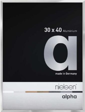 Nielson Alpha Silver Aluminium Frame 40x30 cm