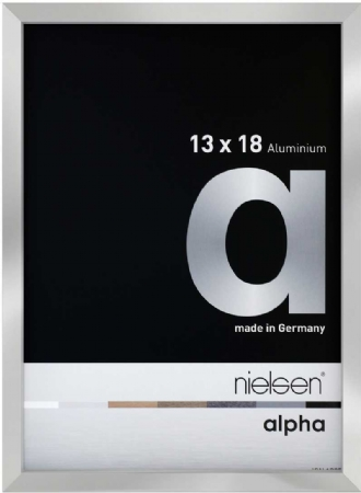 Nielson Alpha Silver Aluminium Frame 18x13 cm
