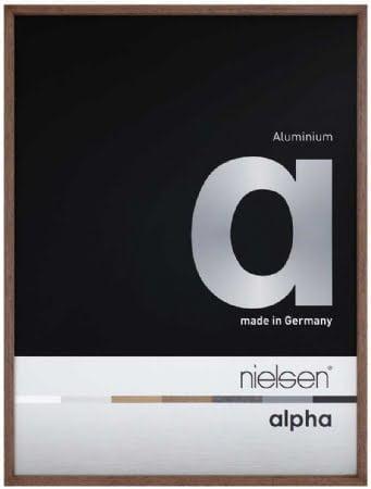 Nielson Alpha Wenge Aluminium Frame 50x40 cm