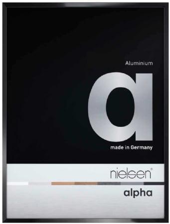 Nielson Alpha Jet Black Aluminium Frame A2