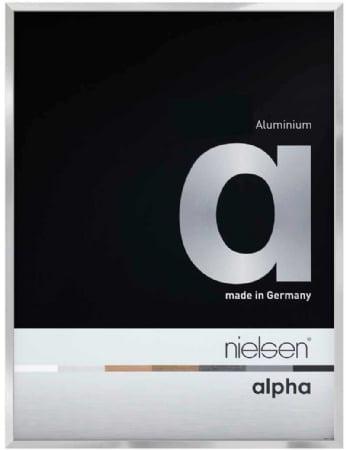 Nielson Alpha Silver Aluminium Frame 70x50 cm