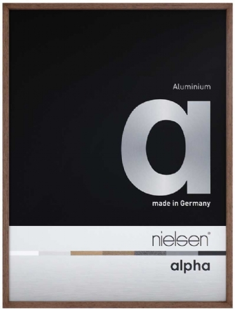 Nielson Alpha Wenge Aluminium Frame 70x50 cm