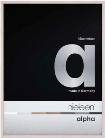 Nielson Alpha White Aluminium Frame 70x50 cm