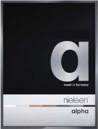 Nielson Alpha Dark Grey Aluminium Frame 80x60 cm