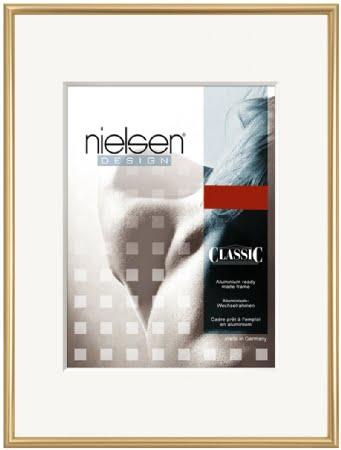 Nielson Classic Gold Aluminium Frame 25x20 cm
