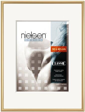 Nielson Classic Gold Aluminium Frame 40x30 cm