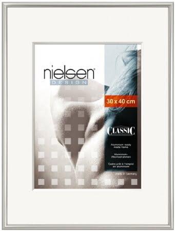 Nielson Classic Silver Aluminium Frame 40x30 cm