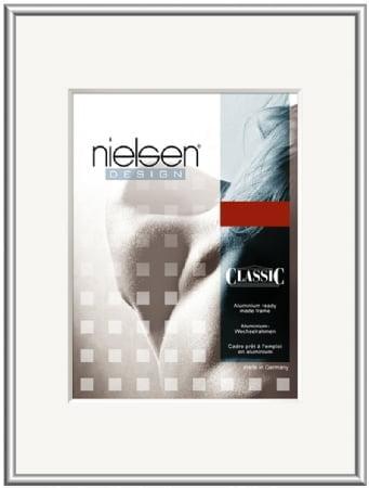 Nielson Classic Silver Aluminium Frame 70x50 cm