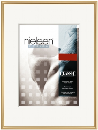 Nielson Classic Gold Aluminium Frame 80x60 cm