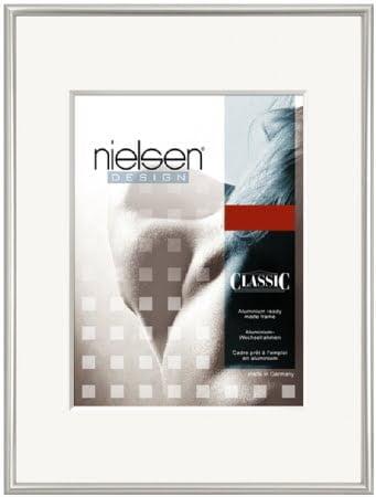Nielson Classic Silver Aluminium Frame 70x70 cm