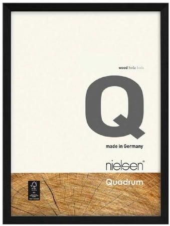 Nielson Quadrum Black Wood Frame 40x30 cm