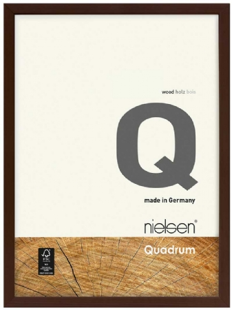 Nielson Quadrum Wenge Wood Frame 50x40 cm