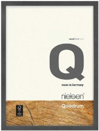 Nielson Quadrum Grey Wood Frame 80x60 cm